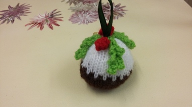 Christmass pud bauble