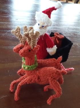 Santa, Dancer and Prancer